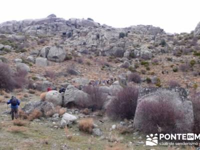 La sierra de Paramera - Castillo de Manqueospese / Aunqueospese - Castro Celta de Ulaca; senderos ca